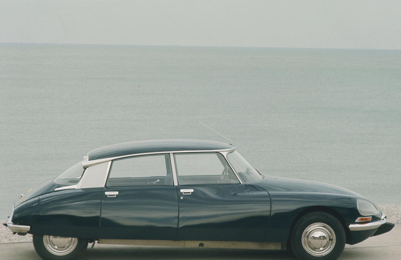 Citroën DS 21 -ved havet