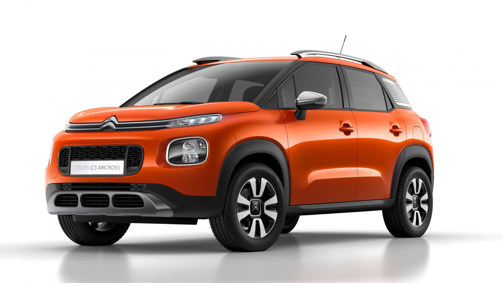 C3 Aircross Compact SUV - Spicy Orange