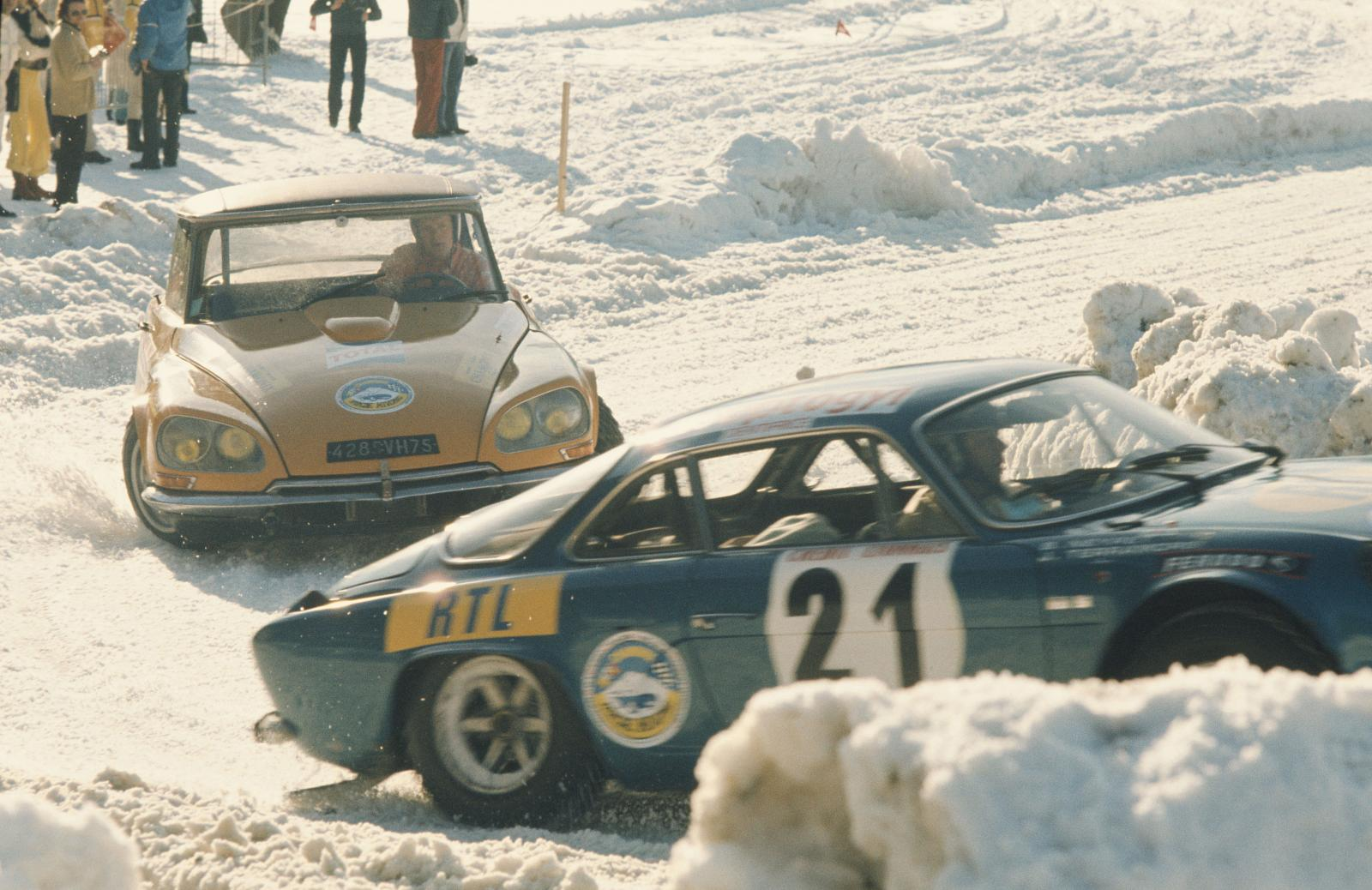 Vinter i Chamonix - DS 21 - 1972